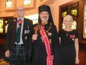 Albert Thomson, Archbishop Lorenzo, Linda Thomson