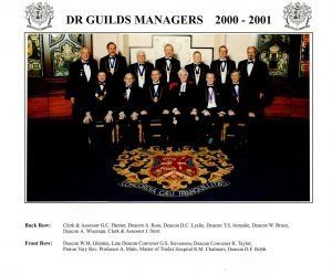 Dr Guilds Managers 2000 - 2001
