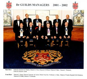Dr Guilds Managers 2001 - 02