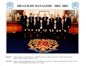 Dr Guilds Managers 2002 - 2003