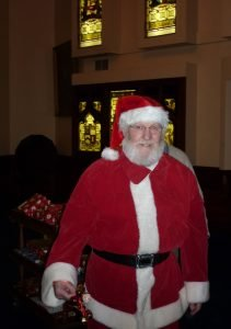 Santa visited the Children's Party at Trinity Hall on Saturday 5th December 2015