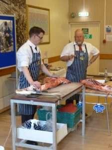Butchery display
