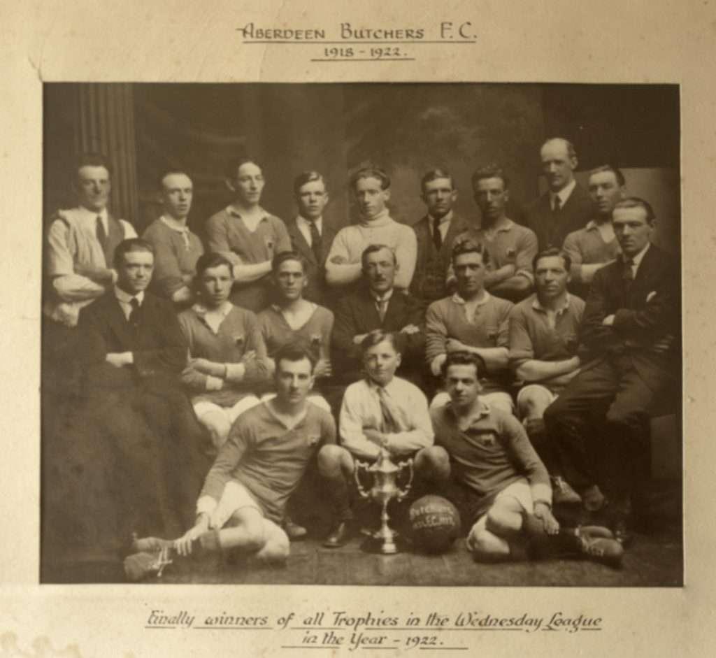 Aberdeen Butchers FC 1918 - 1922